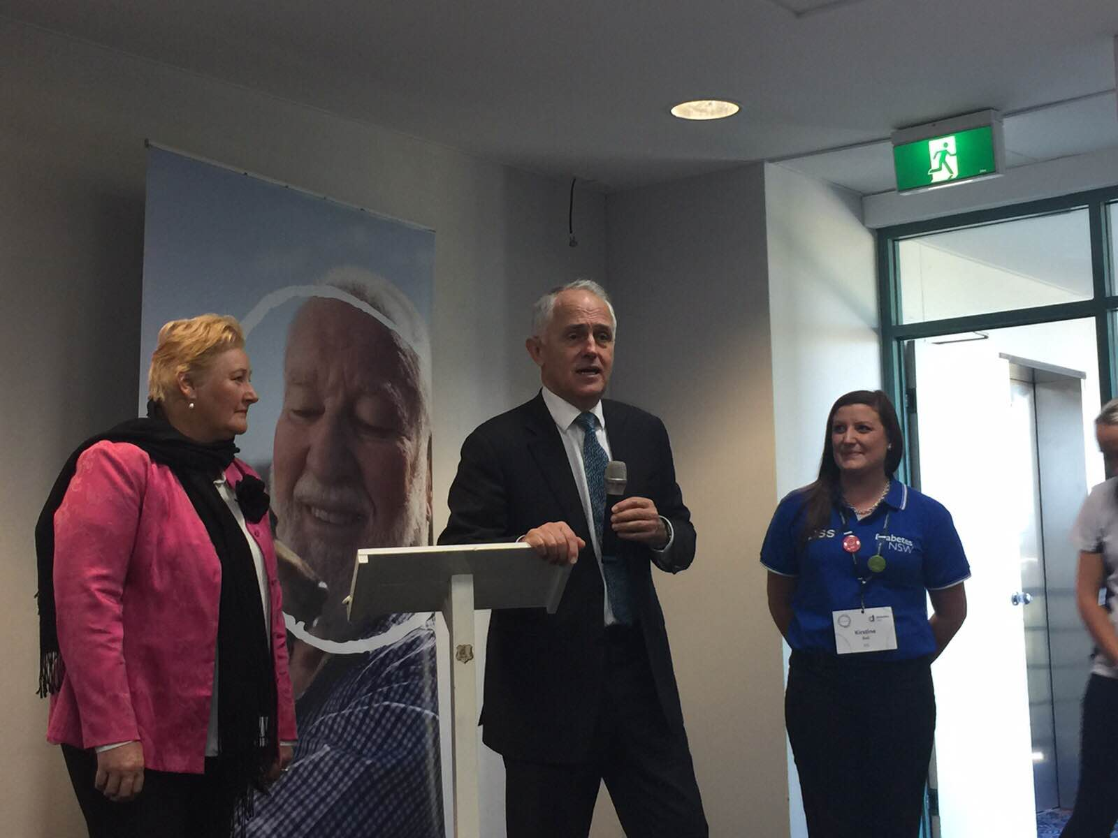 PM Malcolm Turnbull visits St George Live Your Life Forum