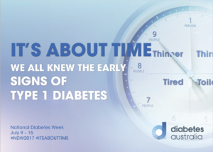 We all knew the early signs of type 1 diabetes