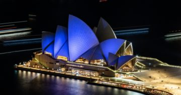 Sydney icons turn blue this National Diabetes Week