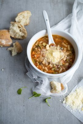 Minestrone a great soup for people with diabetes
