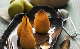 baked pears a tasty diabetes dessert